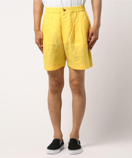品質は非常に良い 【セール Pants】BLUE CHIP/ブルーチップ Linen セール,SALE,BLUE Relax Linen Short Pants BCS-004(パンツ)|BLUE CHIP(ブルーチップ)のファッション通販, パール優美:fbeb78b4 --- kindergarten-meggen.de