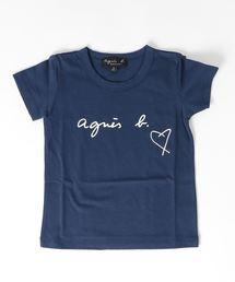 agnes b.(アニエスベー)の【WEB限定】SBX4 E TS ロゴTシャツ(Tシャツ/カットソー)