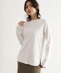 OZOC(オゾック)の[洗える]リブレイヤードプルオーバー(Tシャツ/カットソー)