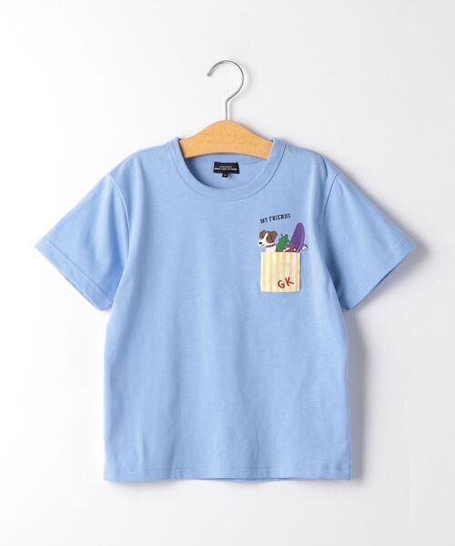 〔吸水速乾〕トイボックスポケット Tシャツ
