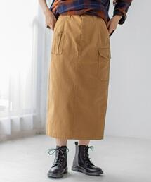 【WEB限定カラー】UKミリタリースカート