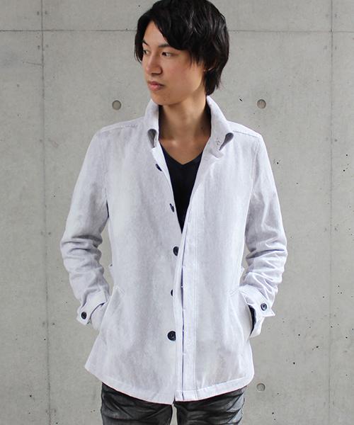 【格安SALEスタート】 TORNADO MART∴T/Cスエード返し衿ジャケット(テーラードジャケット) TORNADO TORNADO MART(トルネードマート)のファッション通販, e-desho:43ca7464 --- blog.buypower.ng