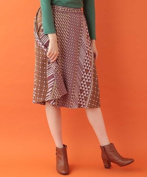 贅沢品 mezclar 幾何学ジャガードスカート(スカート)|Jocomomola(ホコモモラ)のファッション通販, 3939 Surf&Snow:fa514af3 --- blog.buypower.ng