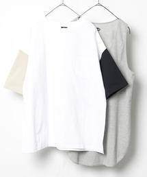 FREAK'S STORE(フリークスストア)のWEB限定 サーマルレイヤード 半袖Tシャツ&タンクトップ クレイジーパターン(Tシャツ/カットソー)