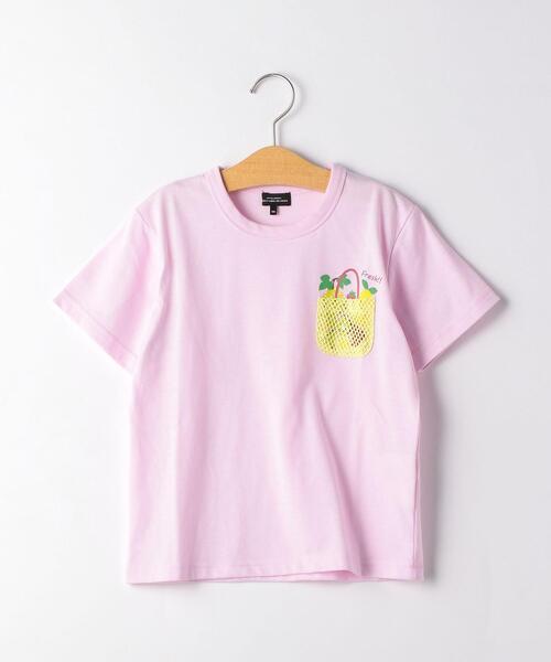 〔吸水速乾〕フルーツバスケットポケット Tシャツ