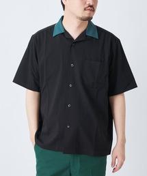 CIAOPANIC(チャオパニック)の襟切替シャツ/オープンカラークレリックシャツ(シャツ/ブラウス)