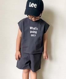 CIAOPANIC TYPY(チャオパニックティピー)の【ZOZOTOWN限定】【KIDS】 メッセージロゴスウェットセットアップ(Tシャツ/カットソー)