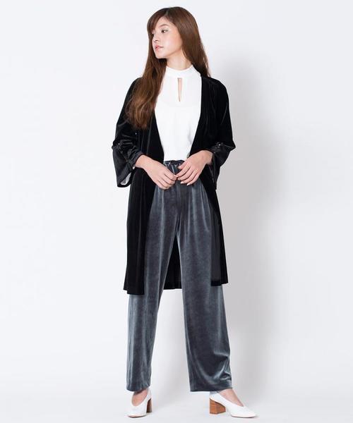 【楽天ランキング1位】 【セール】ベロアカシュクールワンピース (ワンピース)|NINE(ナイン)のファッション通販, L-スタイル:21390a7f --- fahrservice-fischer.de