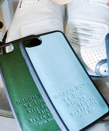 GREEN BOWL(グリーンボウル)のGREENBOWL Leather iphone Cover/グリーンボウルレザーアイフォンカバー(モバイルケース/カバー)