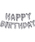 RELAX(リラックス)の「<RELAX/リラックス>HAPPY BIRTHDAY BALLOON/ハッピーバースデーバルーン(コスチューム/パーティーグッズ)」|シルバー