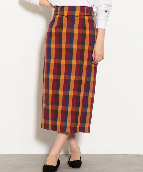 NFC ハイウエスト タイト スカート ◆