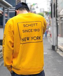 """schott(ショット)のSchott/ショット/CREW NECK SWEAT """"Schott NYC""""(スウェット)"""