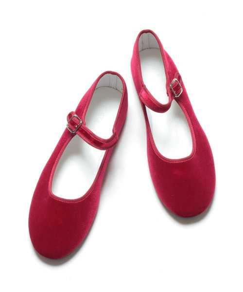 SVEC(シュベック)の「カンフーシューズ / SVEC シュベック Kung fu Shoes(バレエシューズ)」|レッド
