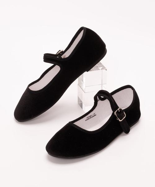 SVEC(シュベック)の「カンフーシューズ /  SVEC シュベック kung fu Shoes(バレエシューズ)」 ブラック