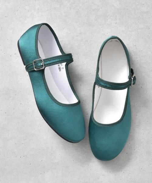 SVEC(シュベック)の「カンフーシューズ /  SVEC シュベック kung fu Shoes(バレエシューズ)」|グリーン系その他