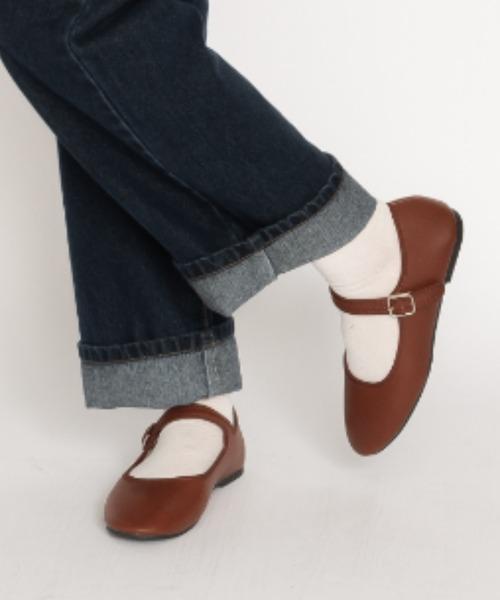 SVEC(シュベック)の「カンフーシューズ /  SVEC シュベック kung fu Shoes(バレエシューズ)」|ブラウン