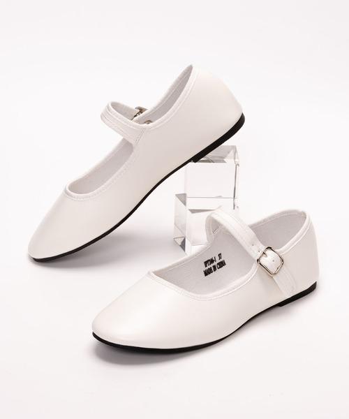 SVEC(シュベック)の「カンフーシューズ /  SVEC シュベック kung fu Shoes(バレエシューズ)」 ホワイト