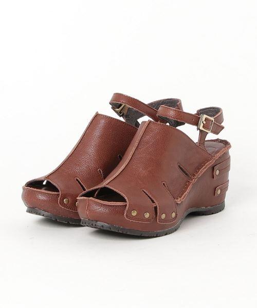 売れ筋商品 【セール】アンクルストラップウェッジサンダル(サンダル) Voug Gomu 56(ゴムゴム)のファッション通販, 和にゃん:d6fd2be7 --- innorec.de