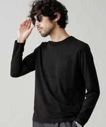 nano・universe(ナノユニバース)のR/CプレーティングクルーネックTシャツ(Tシャツ/カットソー)