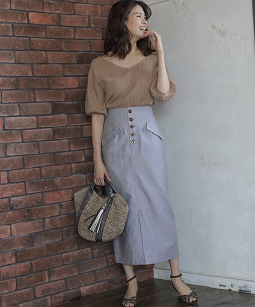 【国際ブランド】 【セール】メンアサフラップタイトスカート(スカート)|BABYLONE(バビロン)のファッション通販, 瑞浪市:32a30e09 --- pyme.pe