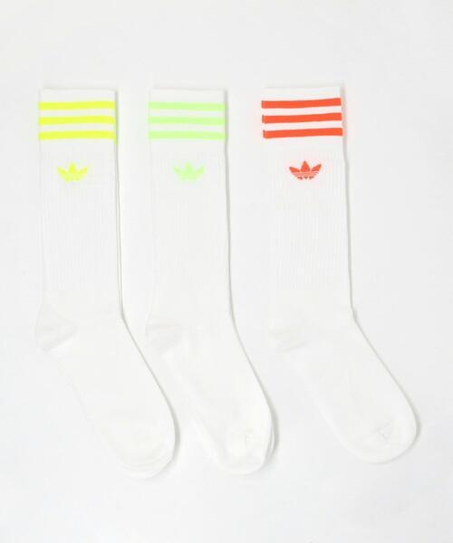 <adidas Originals> SOLID CREW SOCKS/ソックス