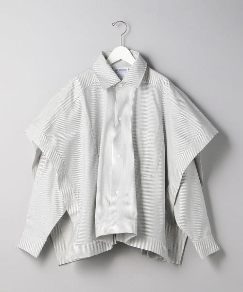 <HED MAYNER (ヘド メイナー) > レイヤード シャツ