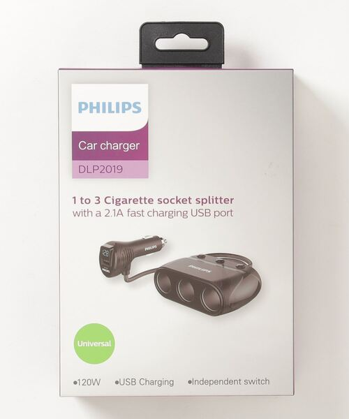 【 Philips / フィリップス 】 DLP2019 車載電子機器 充電器 スマホアクセサリー YUI・・