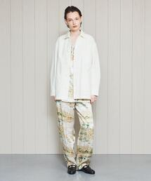 <H>COTTON DRILL COVERALL/カバーオール
