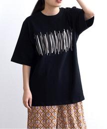 スティックPTTシャツブラック