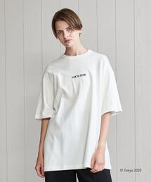 <TOKYO 2020 OFFICIAL LICENSED PRODUCT>SMALL LOGO EMBROIDERY T-SHIRT/Tシャツ.