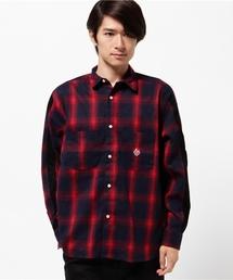 ALDIES(アールディーズ)のMeta Wide Shirt ネル ワイドシャツ(シャツ/ブラウス)