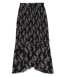 SNIDEL(スナイデル)のシャーリングマーメイドスカート(スカート)
