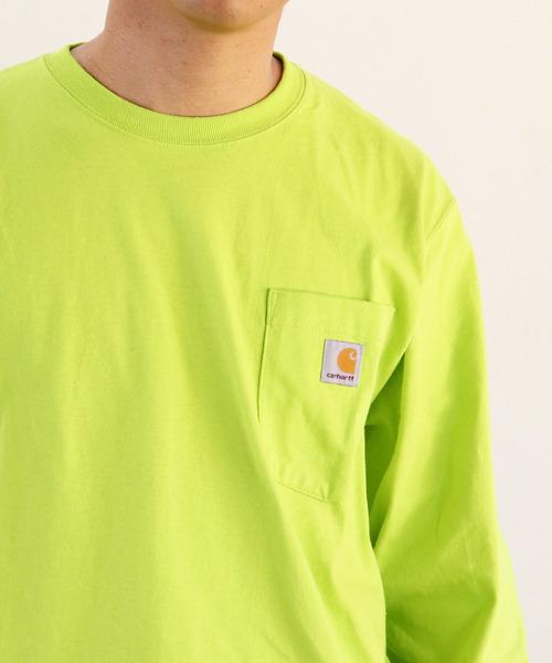 【carhartt/カーハート】K126 Workwear Pocket Long-Sleeve T-Shirts ワーカーポケットロングスリーブTシャツ