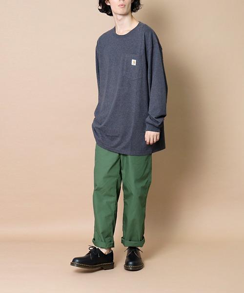 【 carhartt / カーハート 】K126 Workwear Pocket Long-Sleeve T-Shirts ワーカーポケットロングスリーブTシャツ