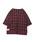VIRGOwearworks(ヴァルゴウェアワークス)の「PULLOVER CHECK SHIRTS(シャツ/ブラウス)」|レッド