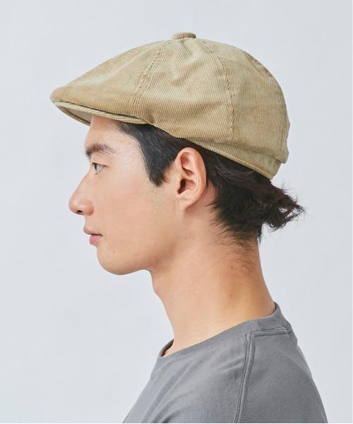 KANGOL(カンゴール)の「【KANGOL】Cord Hawker(ハンチング/ベレー帽)」 詳細画像
