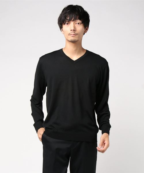 新しいスタイル 【MORRIS & SONS】Vネックハイゲージニット MEN(ニット/セーター)|Morris Bshop & Sons(モリスアンドサンズ)のファッション通販, SHOESHOLIC:1f8fb5c2 --- pyme.pe