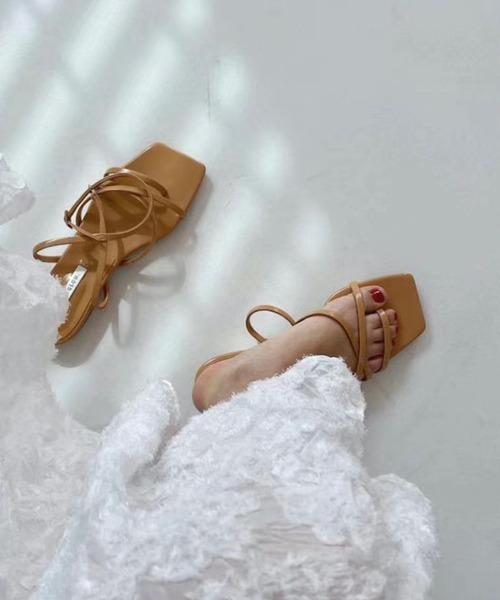 【chuclla】Thongs strap flat sandal sb-6 chs66