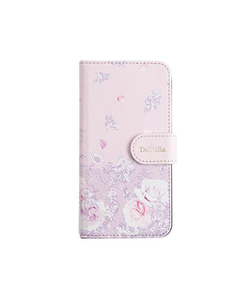 DaTuRa(ダチュラ)の「【iPhone8/7/6s/6対応 手帳型ケース】DaTuRa(ダチュラ)×Gizmobies/FLOWER LACE PNK(モバイルケース/カバー)」|ピンク