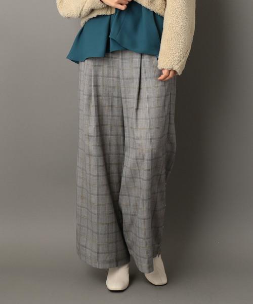 【送料無料/新品】 【セール】エアリーチェックワイドパンツ(パンツ)|NINE(ナイン)のファッション通販, RUBY TUESDAY:859e1278 --- rise-of-the-knights.de
