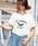 HER CLOSET(ハークローゼット)の「【HERCLOSET】【1mile/ワンマイルウェア】◆WEB限定◆プリントロゴTシャツ/リラックスウェア(Tシャツ/カットソー)」 ホワイト系その他