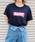 HER CLOSET(ハークローゼット)の「【HERCLOSET】【1mile/ワンマイルウェア】◆WEB限定◆プリントロゴTシャツ/リラックスウェア(Tシャツ/カットソー)」 ネイビー