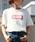 HER CLOSET(ハークローゼット)の「【HERCLOSET】【1mile/ワンマイルウェア】◆WEB限定◆プリントロゴTシャツ/リラックスウェア(Tシャツ/カットソー)」 ホワイト