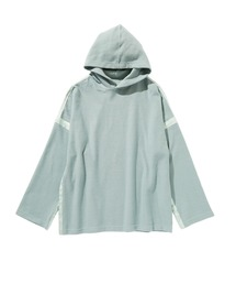 SPRING2020 REVERSIBLE HOODED SWEATSHIRTグリーン