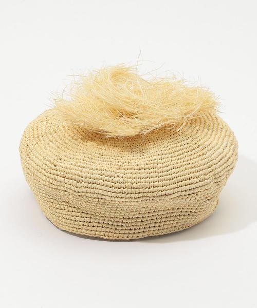 Greenpacha BIARRITZ ストローベレー帽