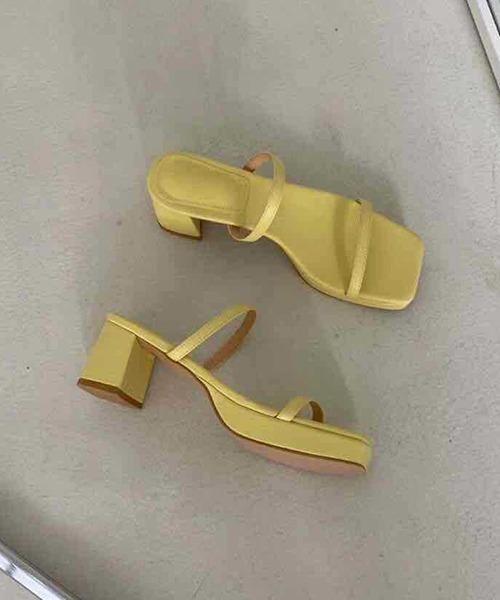 【chuclla】2strap color sandal sb-6 chs67
