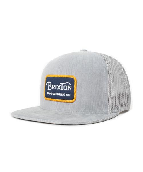 BRIXTON(ブリクストン)の「【BRIXTON】GRADE MESH CAP(キャップ)」|シルバー