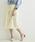 A.I.C(エーアイシー)の「カットレース fab.×スカラップ デザイン・スカート(スカート)」|オフホワイト