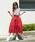 A.I.C(エーアイシー)の「カットレース fab.×スカラップ デザイン・スカート(スカート)」|詳細画像