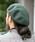 無(ム)の「バスクベレー(ハンチング/ベレー帽)」|グリーン